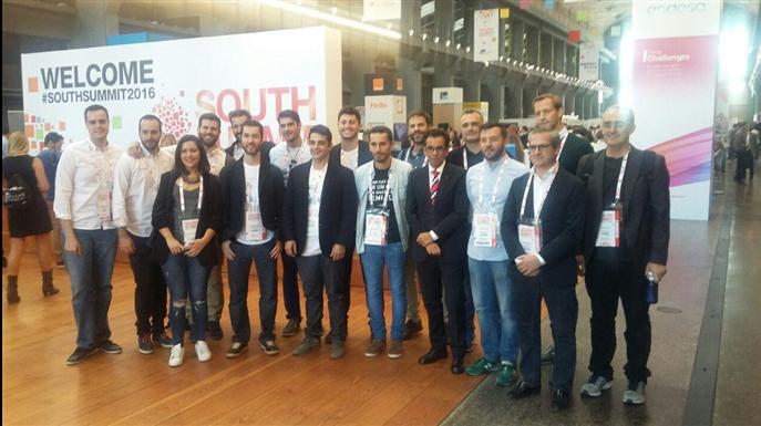 Andalucía Open Future está presente en el South Summit 2016 - Andalucía Open Future
