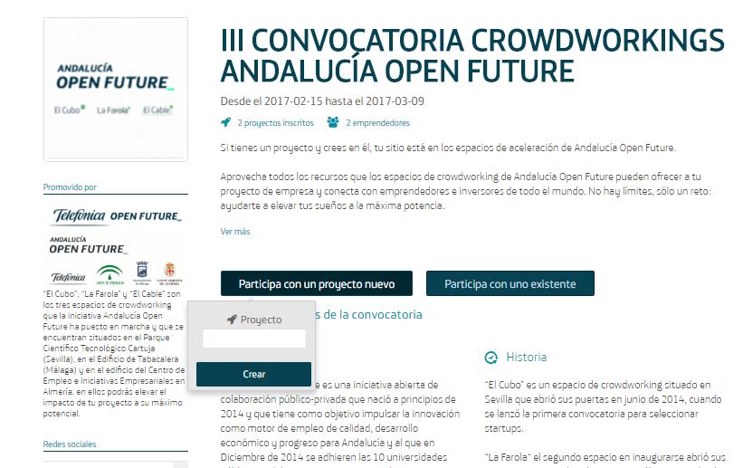 Convocatoria Crowdworking AOF