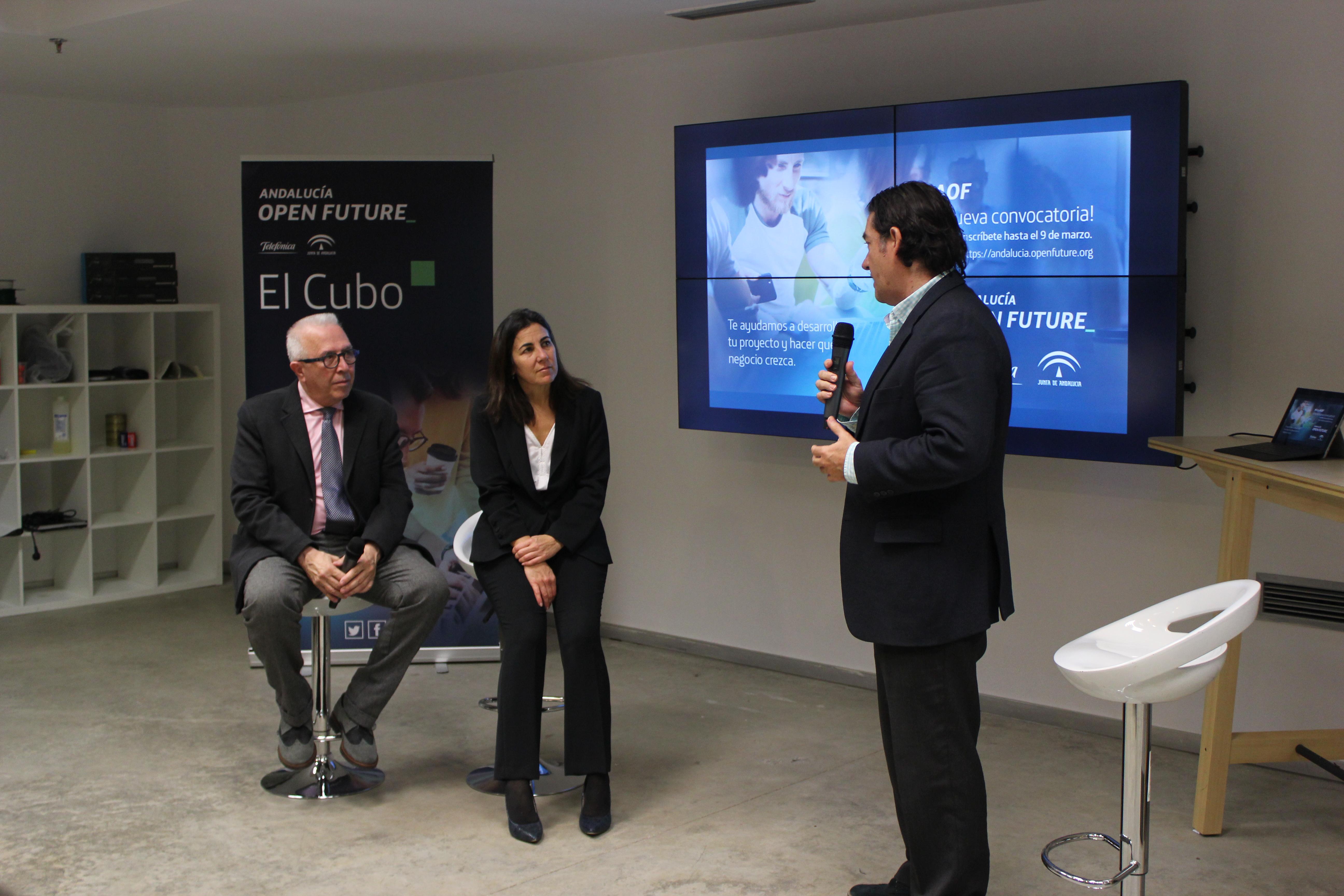Andalucía Open Future lanza siete empresas al mercado