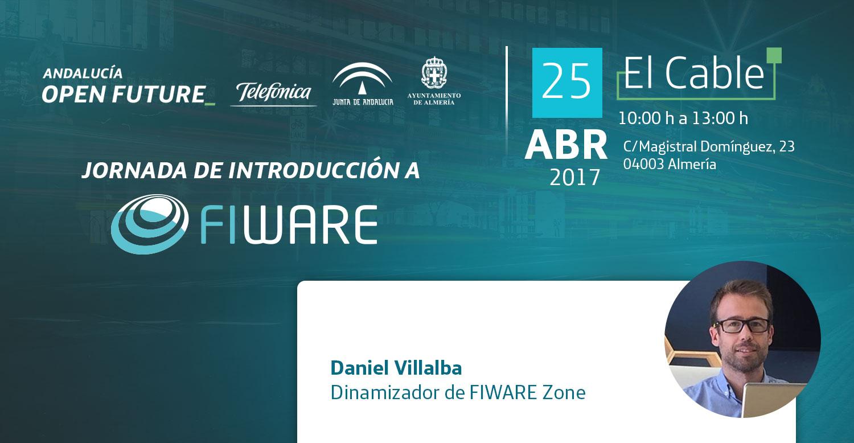 Jornada de Introducción a FIWARE en El Cable