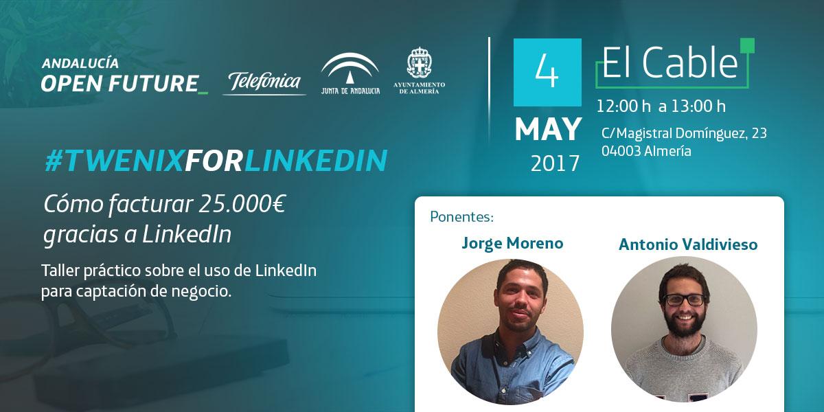 Twenix LinkedIn El Cable