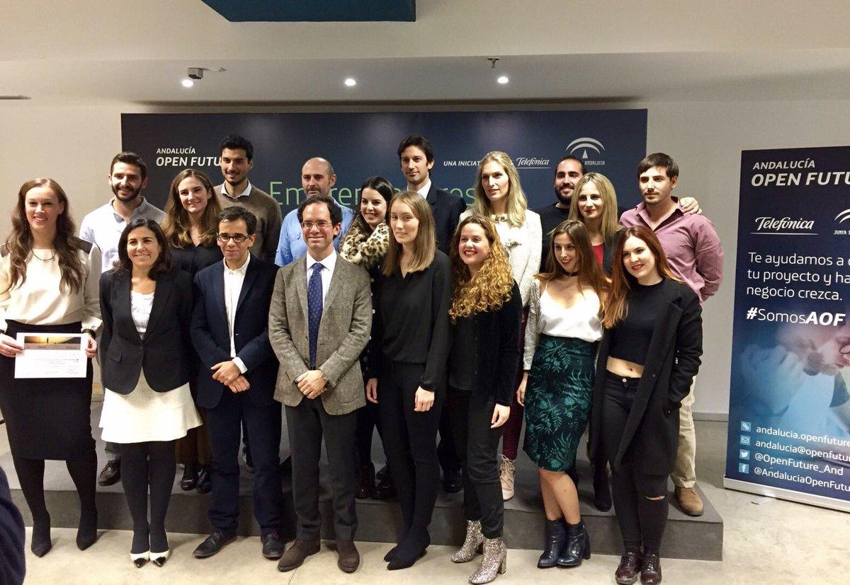 Entrega de diplomas Becas Egresados Andalucía Open Future