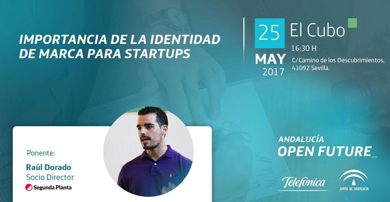 Raúl Dorado en El Cubo: Importancia de la Identidad de Marca para startups