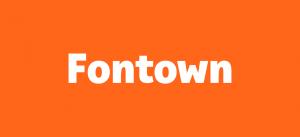 fontown logo