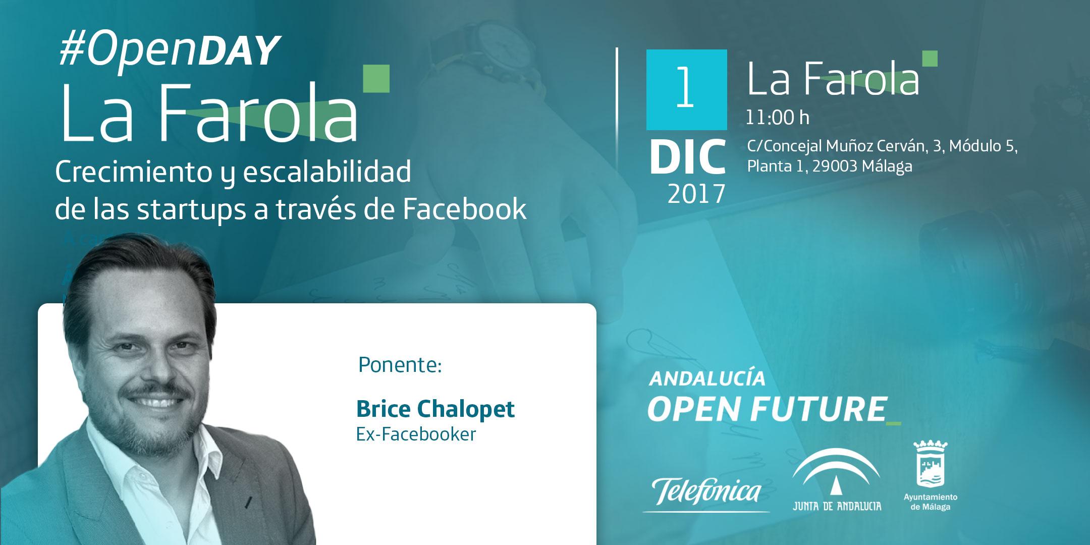 Open Day en La Farola con Brice Chalopet