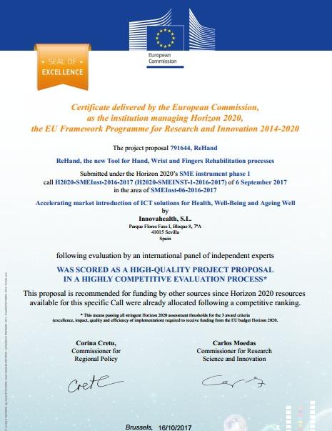 Certificado Healthinn