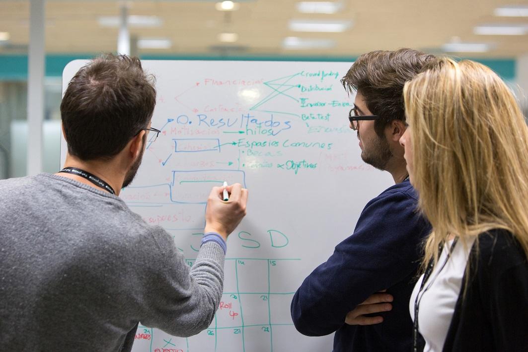 Emprendedores en El Cubo