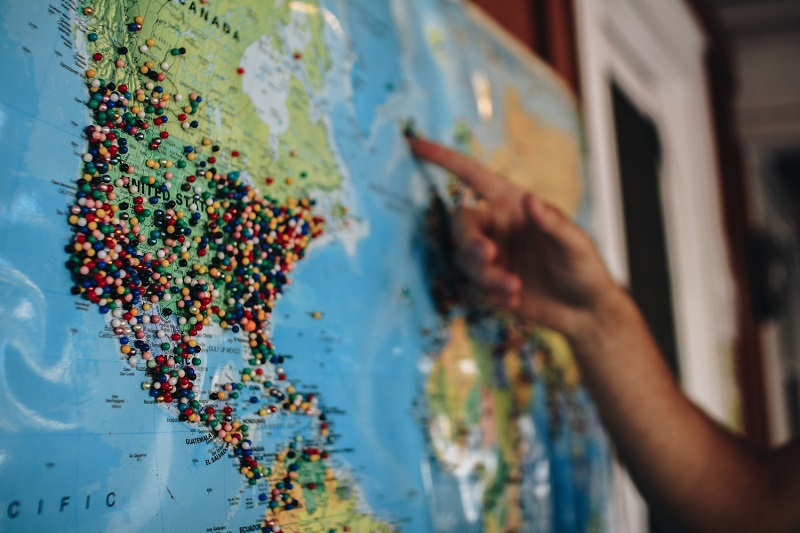 Imagen de mapa mundi | Cuándo internacionalizar mi empresa