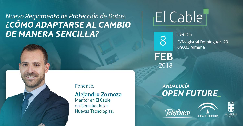 Charla El Cable - Reglamento Proteccion de Datos