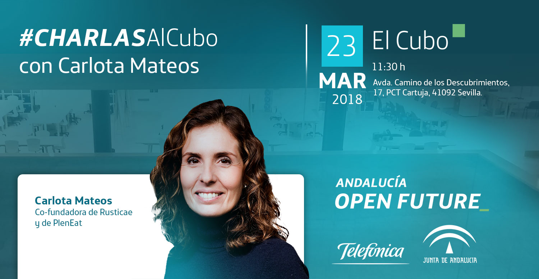 #CharlasAlCubo: Carlota Mateos