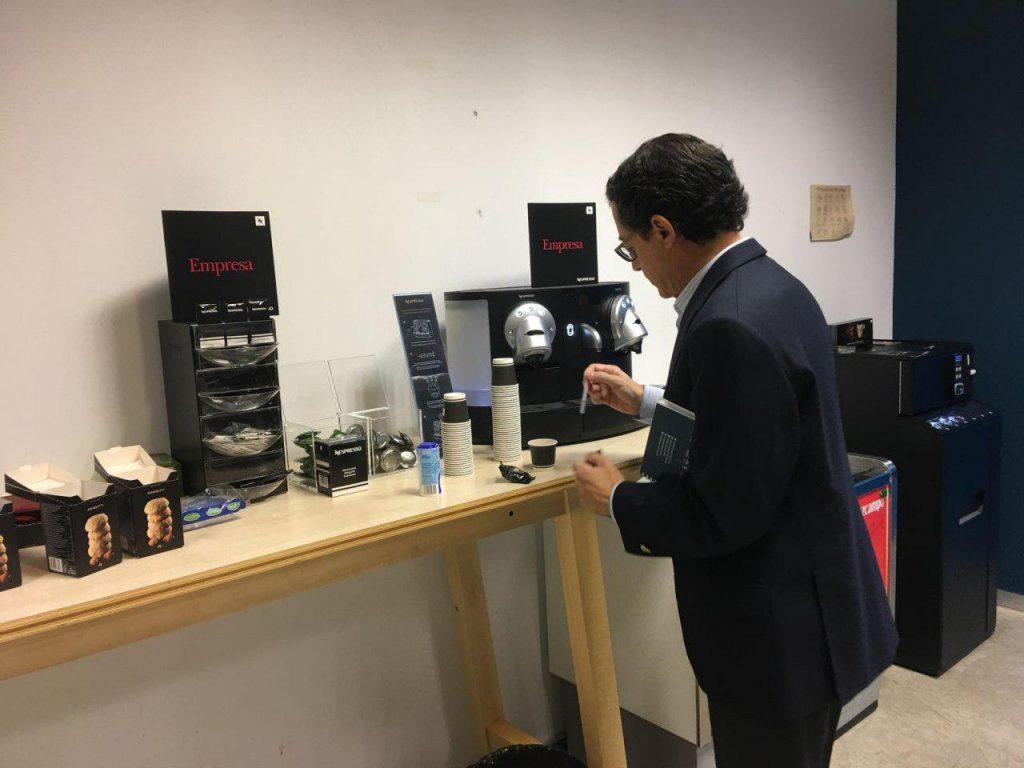 Nespresso en El Cubo