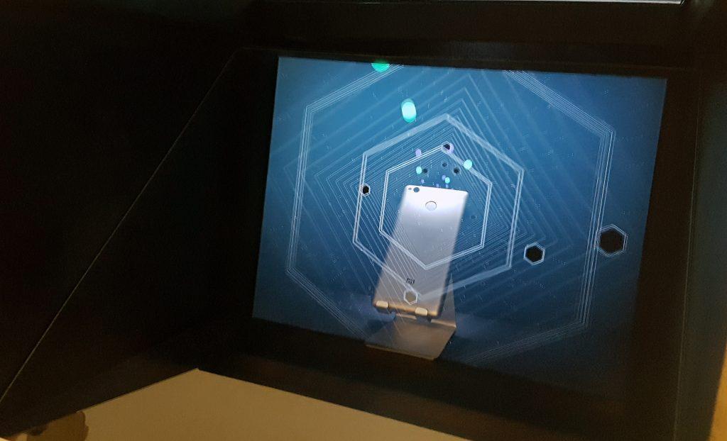 Holograma Estudio La Moneda