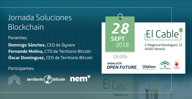 Jornada Soluciones Blockchain