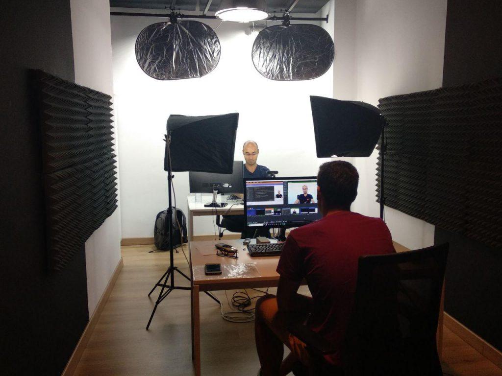 Estudio de grabación OpenWebinars