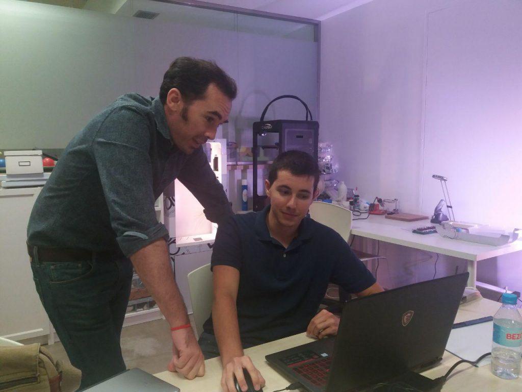 Pilo Martín mentorizando