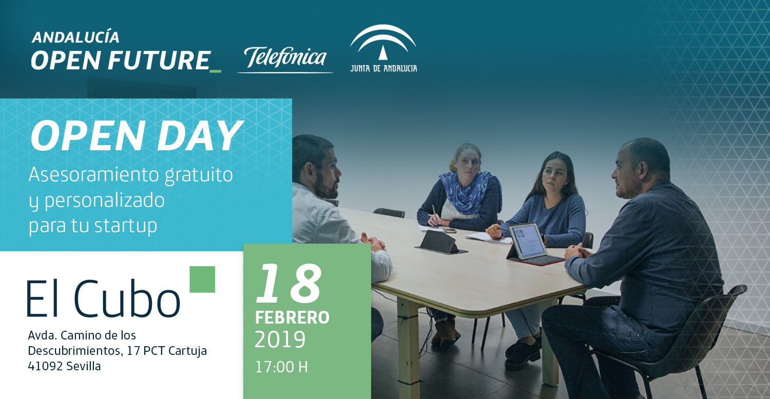 Open Day El Cubo Andalucia Open Future