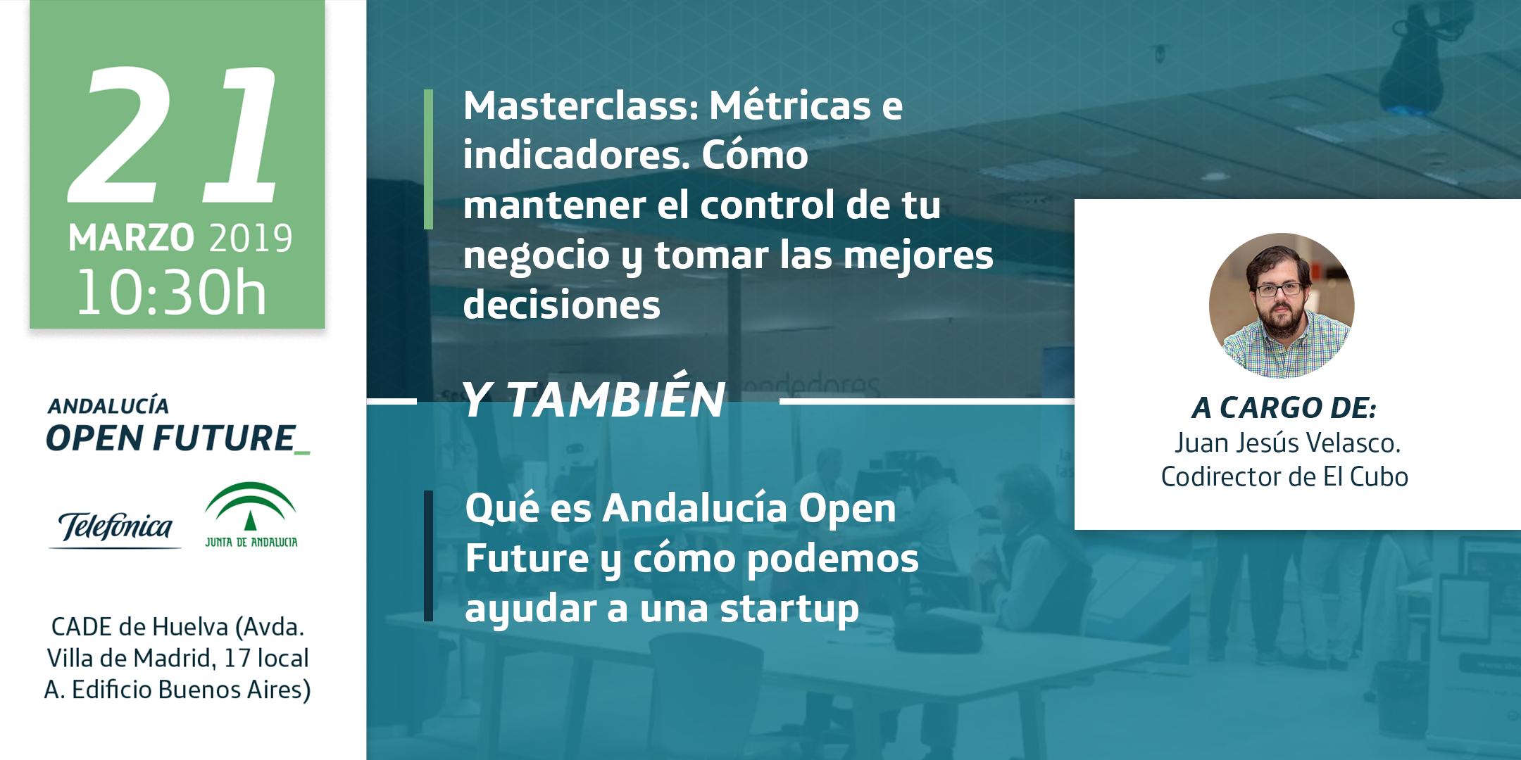 Masterclass metricas. CADE Huelva