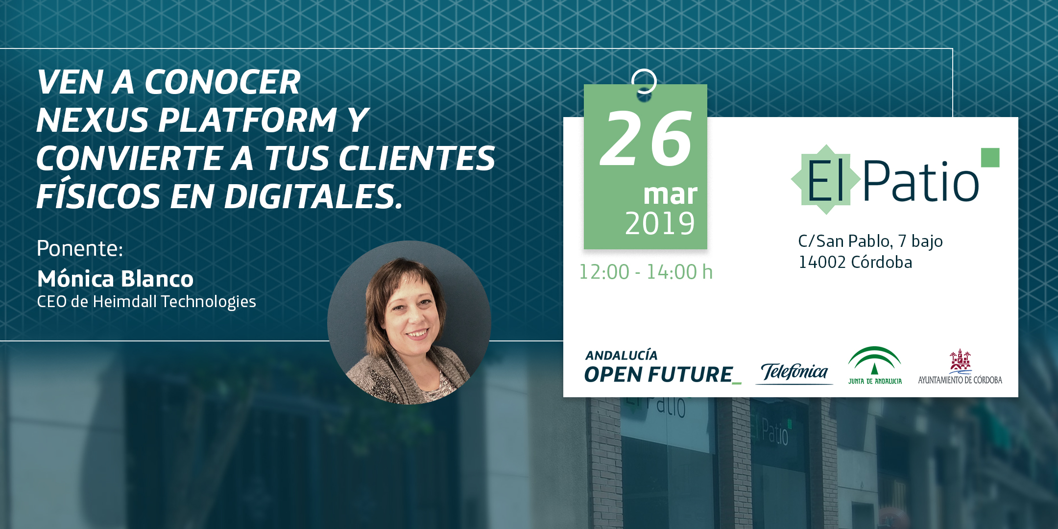 NEXUS Platform Heimdall El Patio Andalucia Open Future