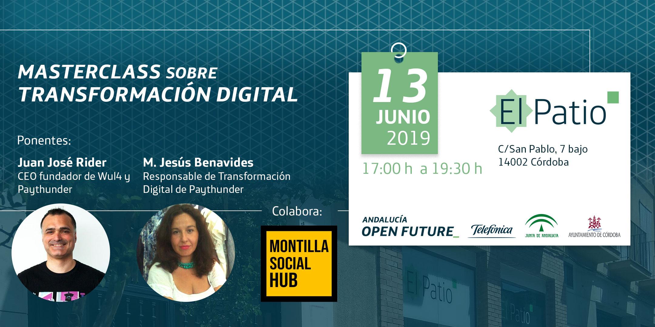 masterclass transformacion digital El Patio