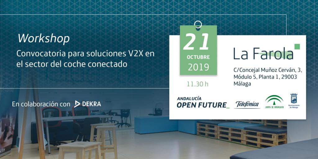 workshop convocatoria para soluciones V2X