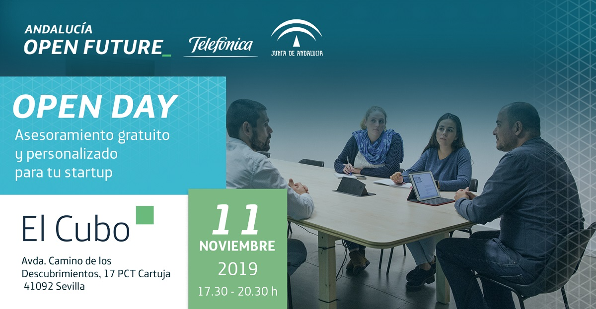 Open Day El Cubo en noviembre