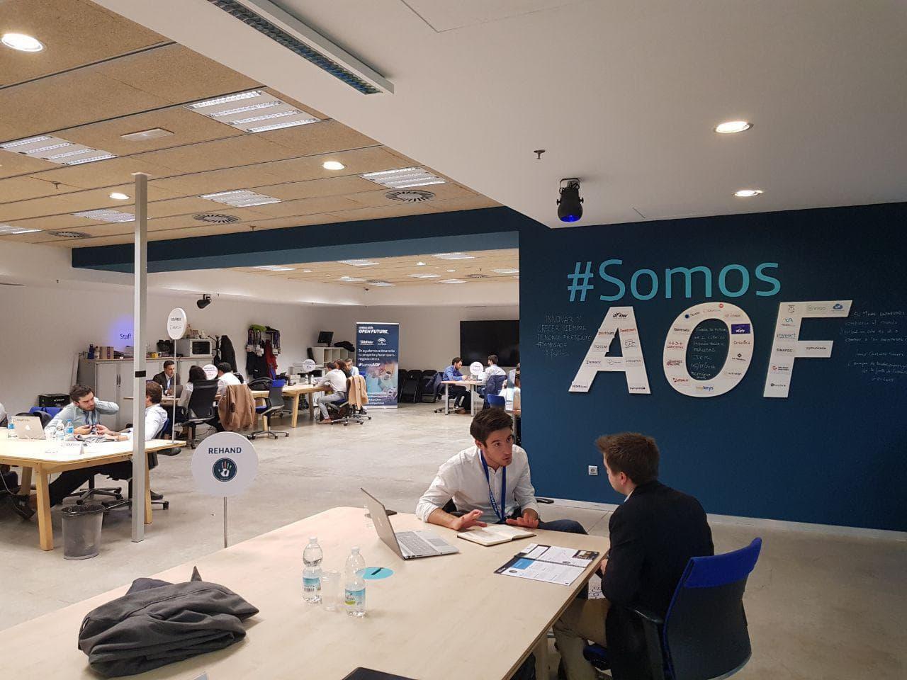 Startup e inversor reunidos en Andalucía Open Future