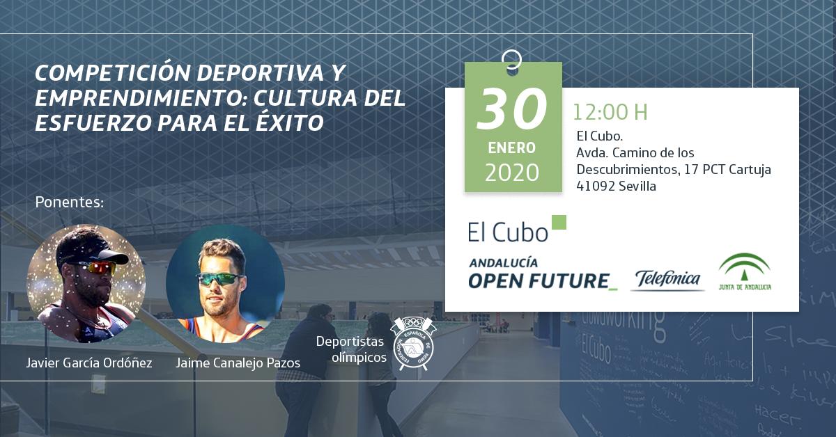 'Competición deportiva y emprendimiento', en El Cubo