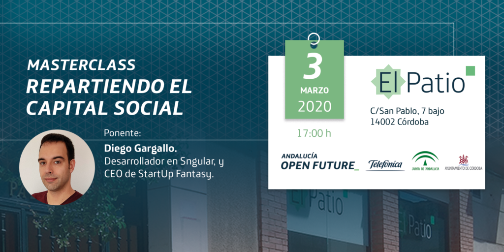 Masterclass Capital social El Patio