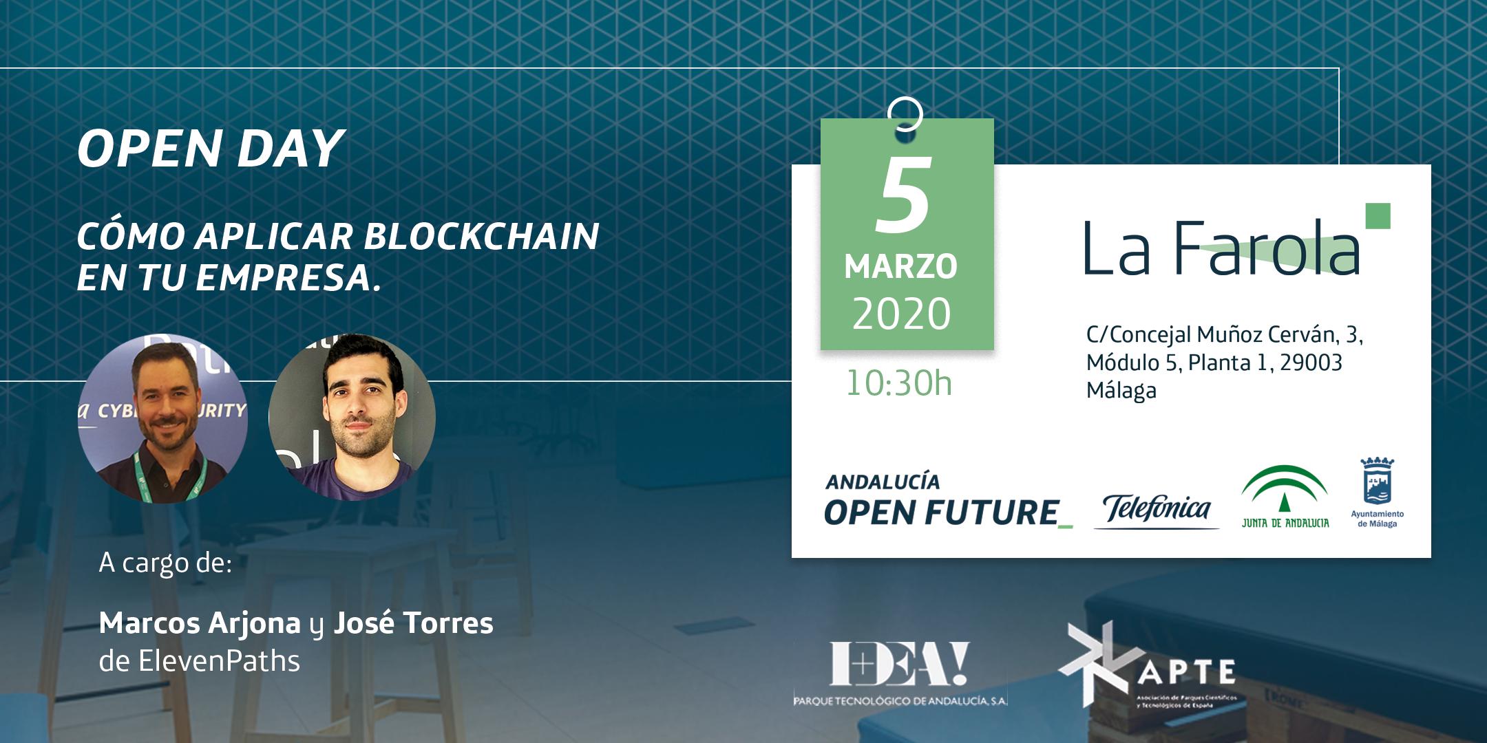 Open Day Blockchain LaFarola