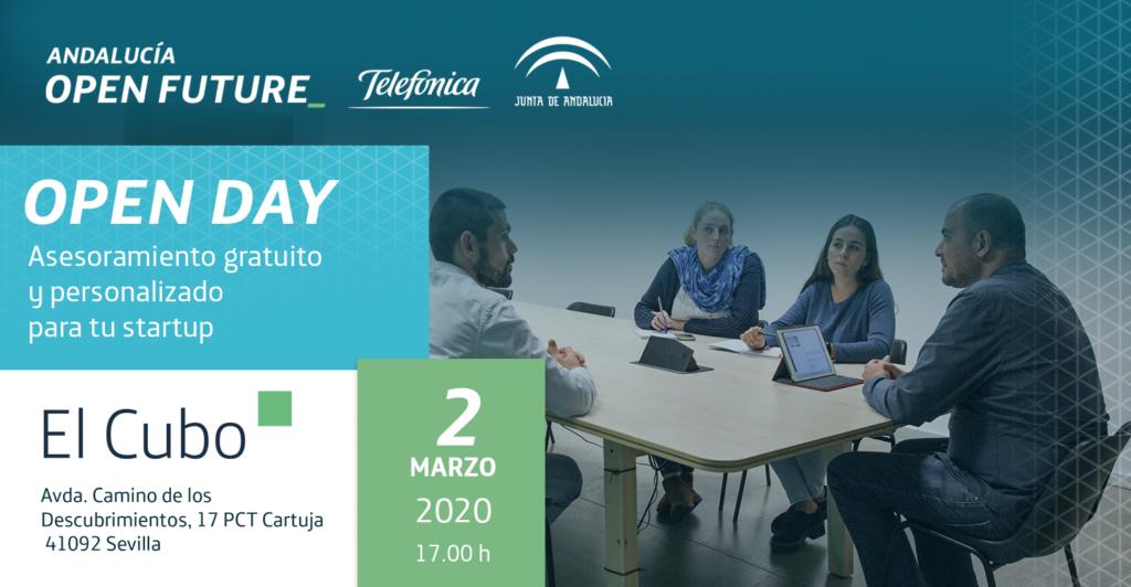 Open Day El Cubo marzo 2020