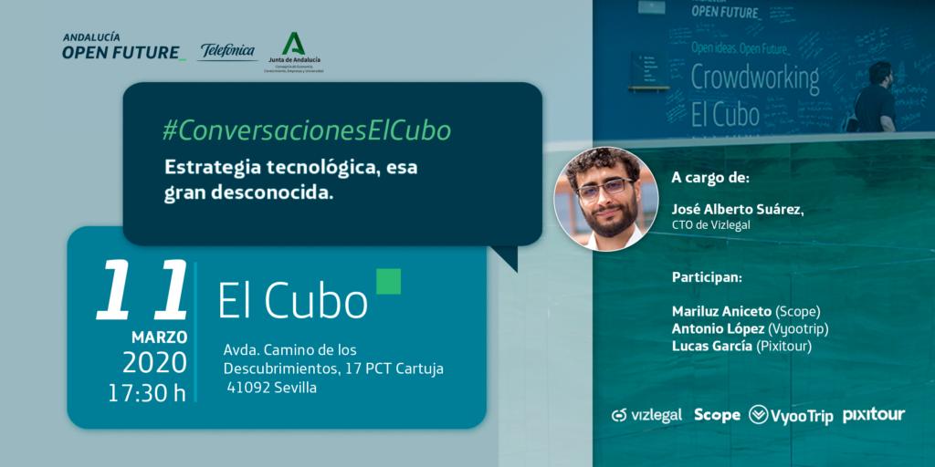 Conversaciones El Cubo estrategia tecnológica