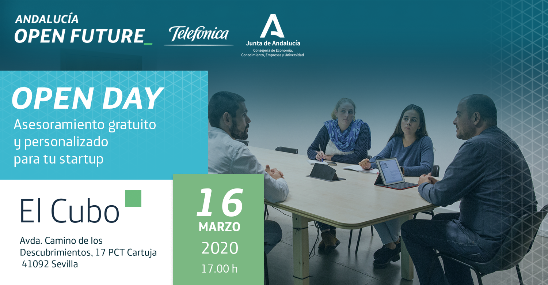Open day El Cubo 16 marzo