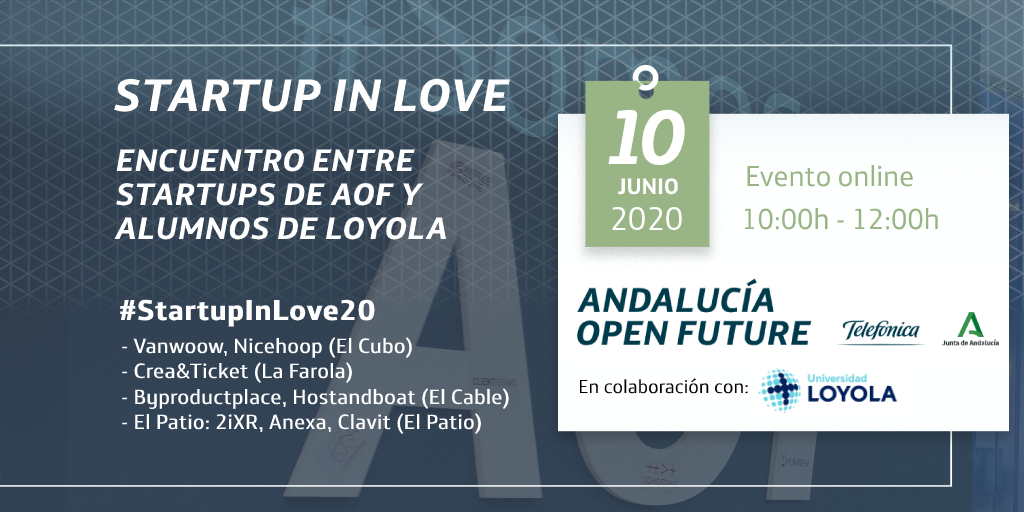 Startup in love | Andalucía Open Future