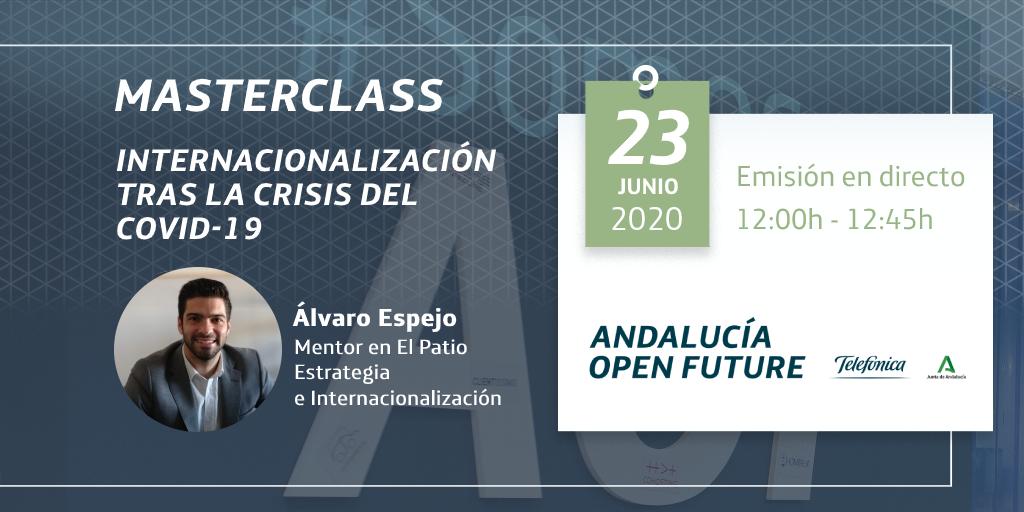 Masterclas Álvaro Espejo