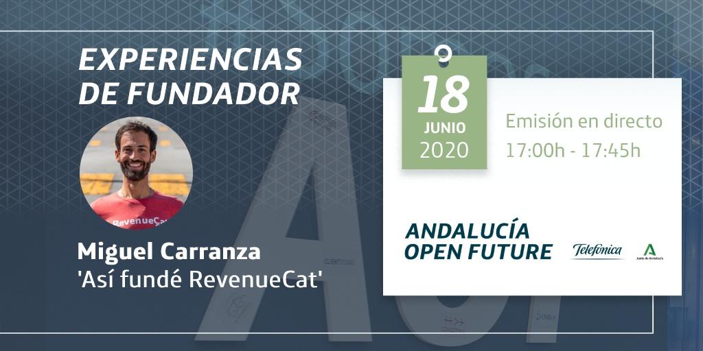 Experiencias de fundador: Miguel Carranza