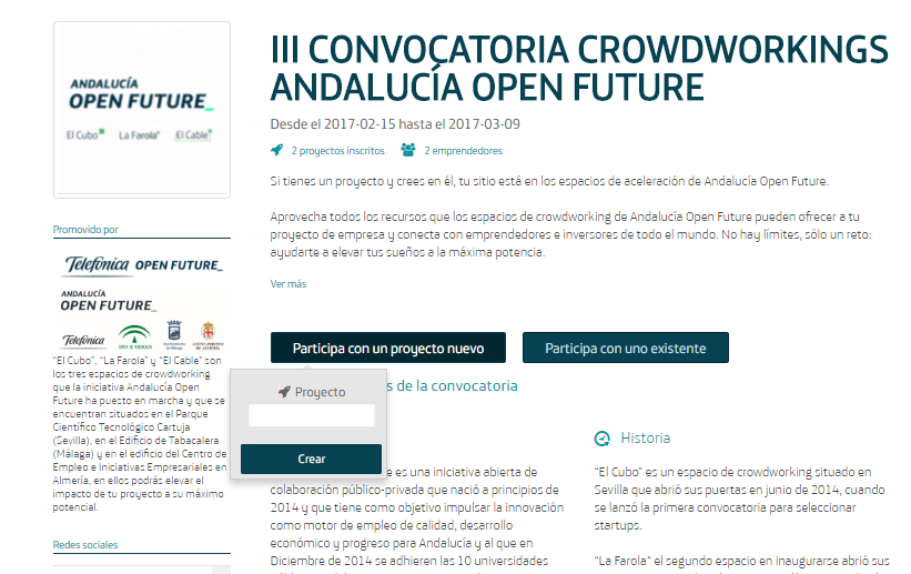 Convocatoria Crowdworking AOF