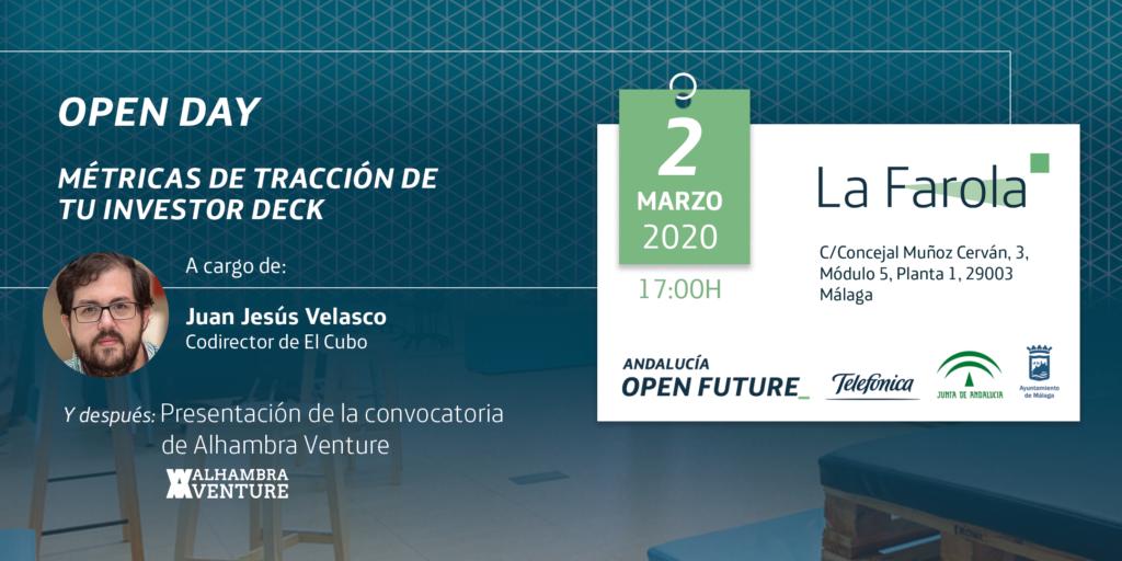 Open Day Metricas - La Farola