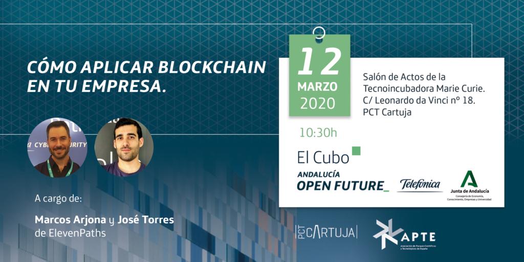 Blockchain Sevilla PCT Cartuja